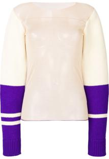Calvin Klein 205W39Nyc Suéter Translúcido - Estampado