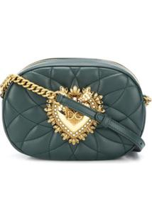 Dolce & Gabbana Bolsa Tiracolo Devotion - Verde