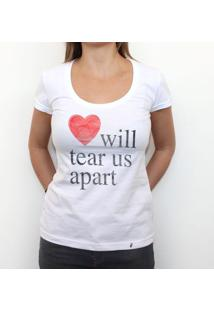 Love Will Tear Us Apart - Camiseta Clássica Feminina