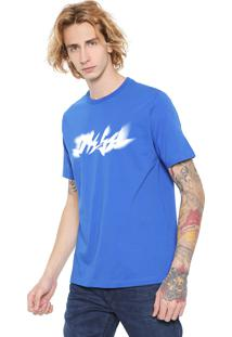 Camiseta Diesel Just Xk Azul