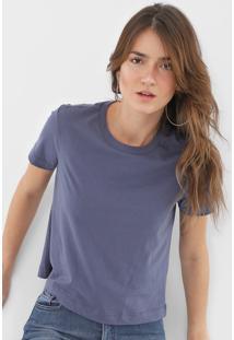 Blusa Dzarm Lisa Azul