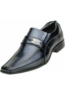 Sapato Social Venetto Onix - Masculino