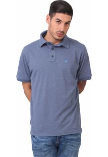 Polo Basic Azul Índigo