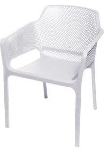 Cadeira Vega Upper Com Braço – Branca