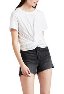 Camiseta Levis Twist Front Feminina - Feminino