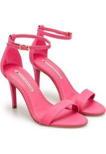 Sandália Sapatinho De Luxo Salto Fino Napa Dubai Feminina - Feminino-Rosa