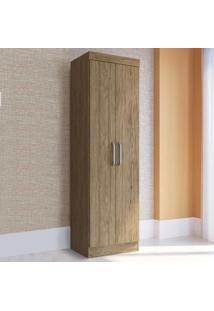 Guarda-Roupa Solteiro 2 Portas Rp2200 Wood - Decibal Móveis