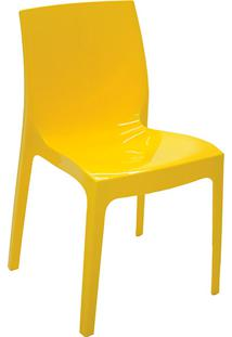 Cadeira Alice Amarelo - Tramontina