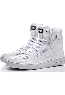 Sneaker Rock Fit Cano Médio Branco