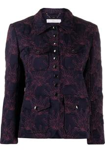 Chloé Flame-Quilted Jacket - Azul