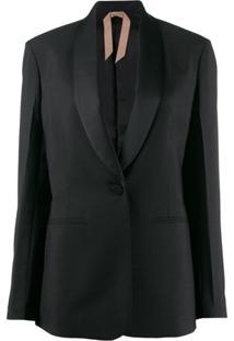 Nº21 Shawl Collar Blazer - Preto