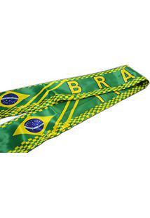 Cachecol Echarpe Torcedor Jogo Brasil Torcida Copa Do Mundo