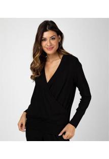 Liz Easywear Blusa Cachecouer Longa Feminina - Feminino