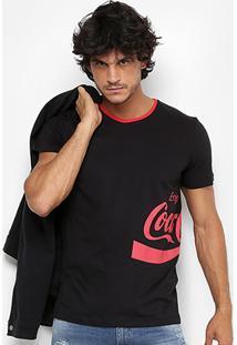 Camiseta Coca-Cola Enjoy Coke Masculina - Masculino