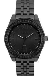 Relógio Euro Feminino Analógico Eu2035Ynq/4P - Unissex-Preto