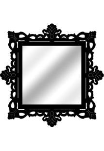 Espelho De Parede 14849P Preto 70X70 Art Shop