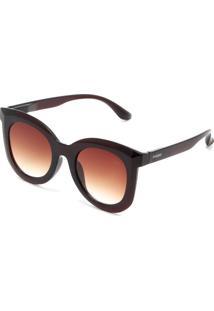a058cf5ac ... Óculos De Sol Opera Rock Liso Marrom