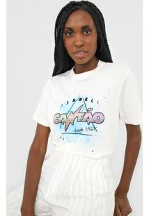 Camiseta Cantão Box Mística Off-White