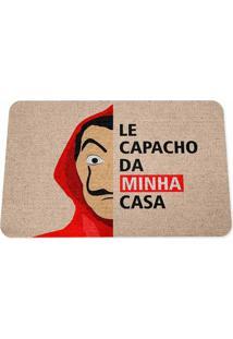 Capacho Ecológico Le Capacho Da Minha Casa Geek10 Bege