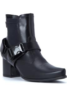 Bota Black Fashion Cs Club Preto - Tricae