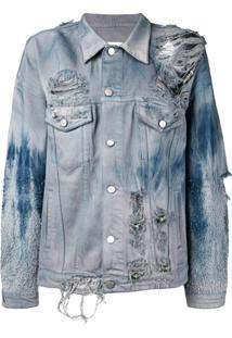 Alchemist Jaqueta Jeans 'Slade' - Azul