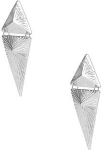Brinco Metal Pirâmides
