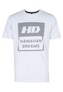 Camiseta Hd Cool Stripes - Masculina - Branco