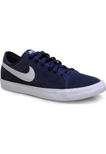 Tenis Masc Nike 644826-409 Primo Court Leather Marinho
