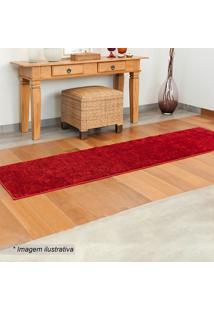 Passadeira Classic- Vermelha- 50X180Cm- Oasisoasis