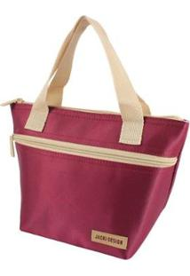 Bolsa Térmica Jacki Design Com Alça - Unissex-Vermelho Escuro