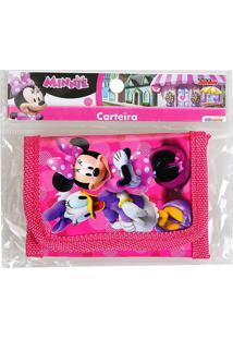 Carteira De Vinil Minnie Mouse - Etilux