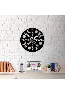 Escultura De Parede Wevans Mandala Dreams + Espelho Decorativo
