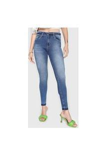 Calça Jeans Lez A Lez Skinny Elastic Azul