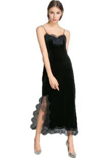 459dbacfb3 Vestido Midi Renda feminino
