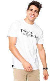 Camiseta Reserva Transparência Branca