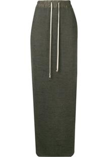 Rick Owens Long Drawstring Skirt - Neutro