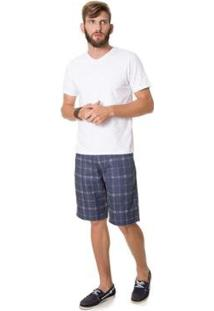 Camiseta Rovitex Premium Masculina - Masculino-Branco