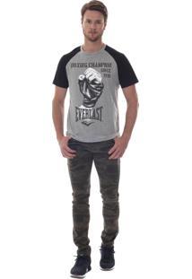 Camiseta Everlast Cinza