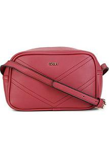 Bolsa Gash Mini Bag Básica Feminina - Feminino-Vinho