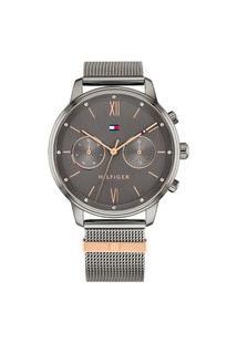 Relógio Tommy Hilfiger Feminino Aço Cinza - 1782304