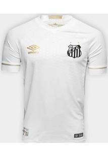Camisa Umbro Santos Oficial 1 2018 Game S/N Masculina - Masculino