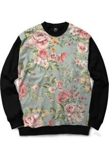 Blusa Bsc Flower Garden Full Print - Masculino