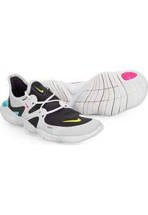 Tênis Nike Free Run 5.0 Feminino - Feminino-Cinza+Chumbo