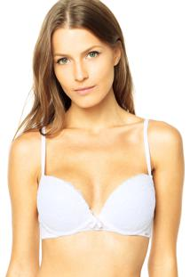 Sutiã Valisere Push Up Magnolia Branco