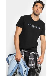 Camiseta Ellus Revolution Masculina - Masculino