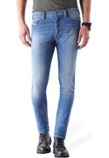 Calça Jeans Diesel Tepphar   Masculina - Masculino-Azul