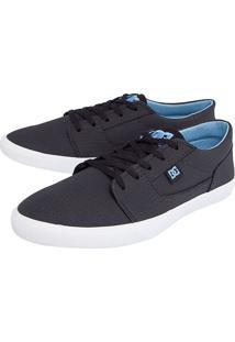 Tênis Dc Shoes Tonik Se Preto/Azul