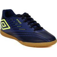 Tênis Futsal Masculino Umbro Speed Iv Azul Marinho 0fbba35bdc07e