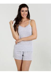 Pijama Feminino Short Doll Alças Finas Marisa