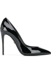 Dolce & Gabbana Scarpin Com Salto Agulha - Preto